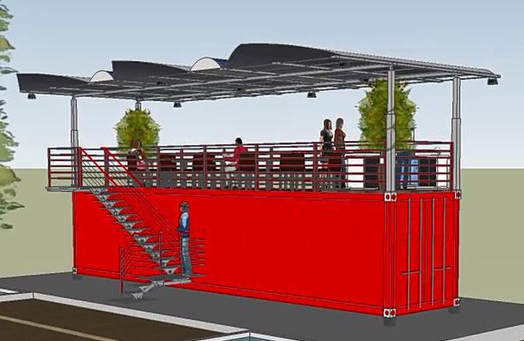 Container Dehor Strutture Verande Container Vetrati Mobili